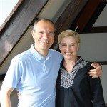 Peter Adams en Tonnie Goes, initiatiefnemers van de DASRA Yoga Alignment Master Class