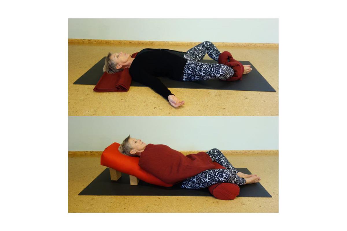 Module Yoga Nidra en Restorative Yoga, gericht op het verzorgen van lessen met ontspanningstechnieken